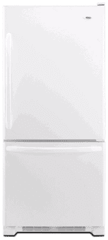 Amana ABB2224WEW - 21.9 cu. ft. Bottom Freezer Refrigerator-White