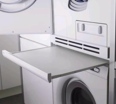 Asko HiddenHelper Series HSS105T - Single Utility Pull-Out Shelf