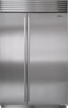 Sub-Zero BI48SIDSPH - Stainless Steel with Tubular Handles