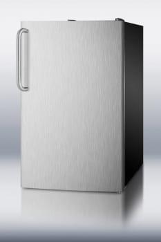 Summit CM421BLXBI - Stainless Steel Door with Towel Bar Handle - SSTB