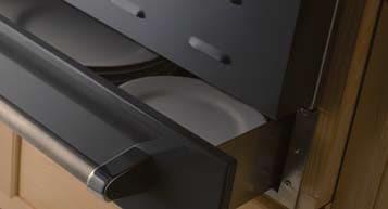 BlueStar BWODRW24 - 24 inch Utility Drawer Installed Below a 24 Inch Wall Oven