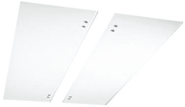 Best AGPCC34W - Optional White Glass Panels