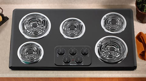 Magic Chef Cec1536aab 36 Inch Electric Cooktop With 5 Coil