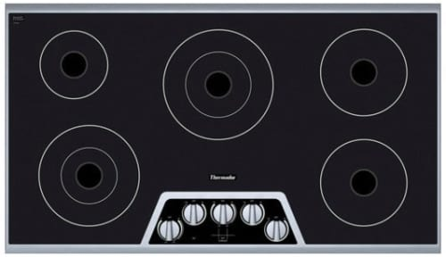 Thermador Masterpiece Series Cem365fs 36 Inch Smoothtop Electric Cooktop