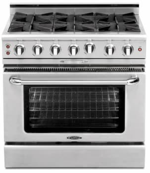 "Capital Culinarian Series CGMR484B2N - Featured View (36"" Model Shown)"