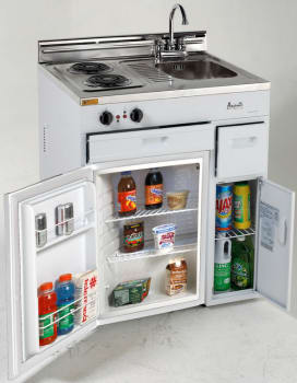 "Avanti CK3016 - 30"" Complete Compact Kitchen with Refrigerator"