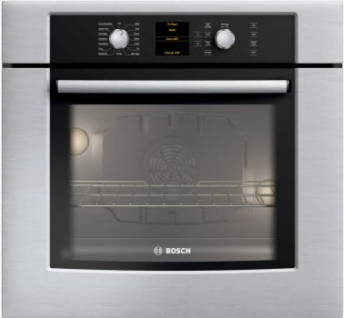 Bosch hbl5420uc 30 inch electric wall oven with genuine european bosch 500 series hbl5420uc view of stainless steel planetlyrics Image collections