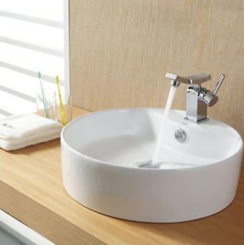 Kraus Unicus Series CKCV14214301CH - Chrome Faucet
