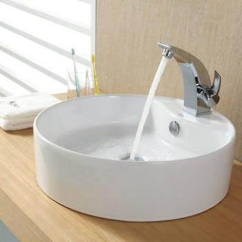 Kraus Illusio Series CKCV14214701CH - Chrome Faucet