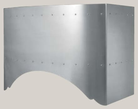 Prizer Hoods Convex Curve Series CNVX54SS - Convex Curve Wall Mount