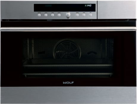 "Wolf E Series CSO24TESTH - 24"" E Series Transitional Convection Steam Oven"
