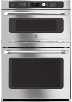 Ge Cafe Series Ct9800shss 30 Inch Built In Combination Wall Oven From
