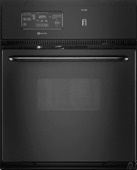 Maytag Cwe4800acb 24 Inch Single Electric Wall Oven With 2 6 Cu Ft Self Cleaning Precision Cooking System Delay Start And Electronic Controls Black