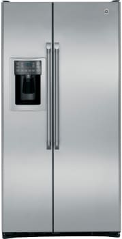GE Cafe Series CZS25TSESS - 24.6 Cu. Ft. Counter-Depth Side-by-Side Refrigerator