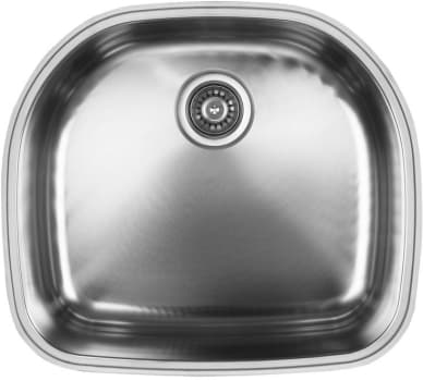 "Ukinox D53710 - 10"" Bowl Depth"