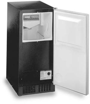 Scotsman Dce33pa1bc 15 Inch Luxury Consumer Ice Machine With 26 Lb Ice Capacity And 30 Lb Ice Production Per Day Drain Required Pump Included Black