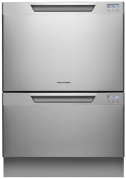 Fisher & Paykel DishDrawer Tall Series DD24DT - Stainless Steel with Recessed Handle