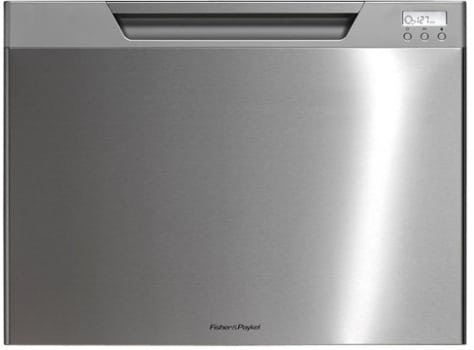 Fisher & Paykel DishDrawer Tall Series DD24ST - Stainless Steel with Recessed Handle