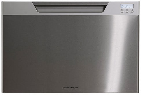 Fisher & Paykel DishDrawer Series DD24SCX7 - Stainless Steel with Recessed Handle