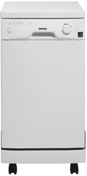 "Danby Designer Series DDW1899WP1 - 18"" Portable Dishwasher"
