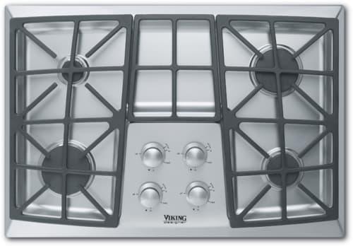 Viking 8 burner cooktop
