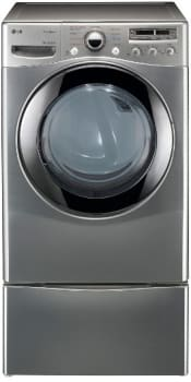 LG SteamDryer Series DLEX2655V - Graphite Steel