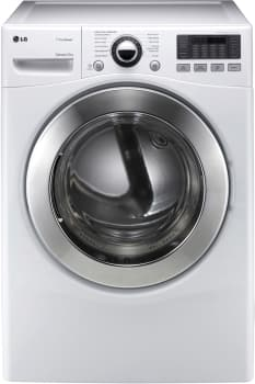 LG SteamDryer Series DLEX3070 - White