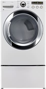 LG SteamDryer Series DLEX3250W - White