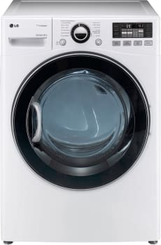 LG SteamDryer Series DLEX3470W - White