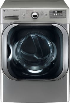LG SteamDryer Series DLGX8001 - Graphite Steel