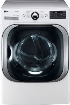 LG SteamDryer Series DLEX8000W - White