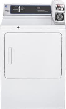 GE Commercial Series DMCD330EJWC - 7.0 Cu. Ft. Capacity Coin-Operated Electric Dryer