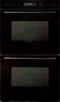 Wolf E Series DO302GB - Unframed Black Glass