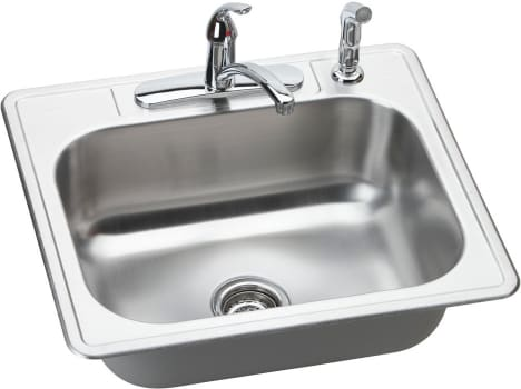 Elkay Dayton Collection DSE125224DF - Stainless Steel Sink Package