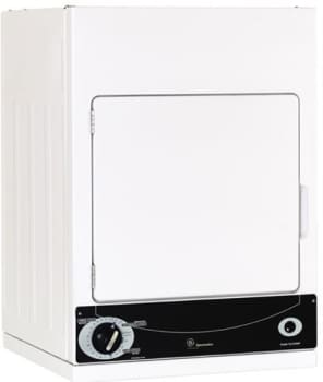 GE Spacemaker DSKS333EC - White with Black Control Panel