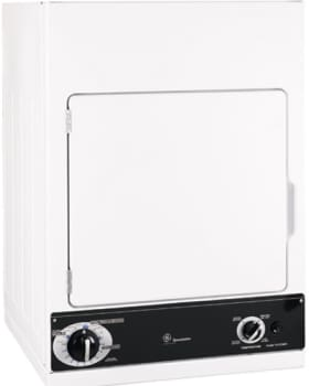 GE Spacemaker DSKS433EB - White with Black Control Panel