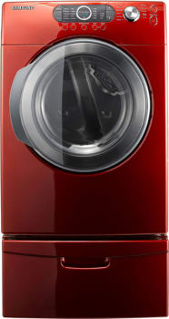 Samsung DV328AE - Tango Red with Optional Pedestal