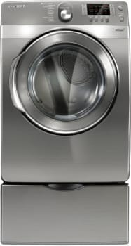 Samsung DV448AEP - Stainless Platinum with Optional Pedestal