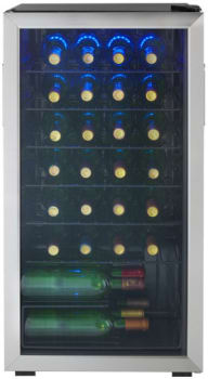 Danby DWC93BLSDB - 36-Bottle Capacity Wine Cooler