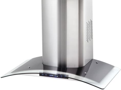 Danby Silhouette Select Series DWRH363GSST - Stainless Steel Chimney Style Range Hood with Glass Trim