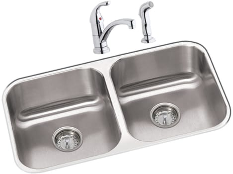 Elkay Dayton Collection DXUH3118DF - Stainless Steel Sink Package
