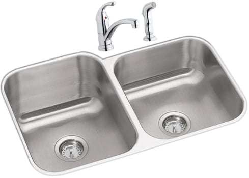 Elkay Dayton Collection DXUH312010LDF - Stainless Steel Sink Package