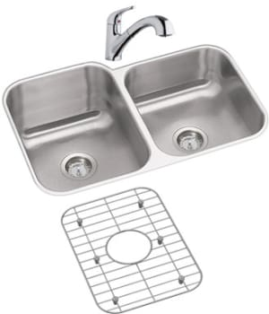 Elkay Dayton Collection DXUH312010LDFBG - Stainless Steel Sink Package