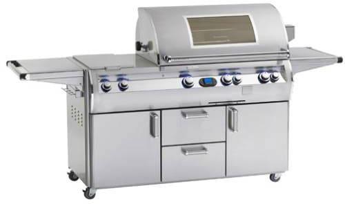 "Fire Magic Echelon Collection E1060S4L1P71W - 111"" Freestanding Gas Grill"