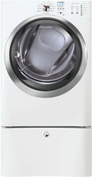 Electrolux IQ-Touch Series EIGD55H - Island White with Optional Pedestal
