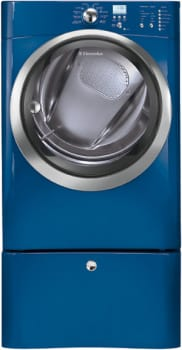 Electrolux IQ-Touch Series EIED55H - Mediterranean Blue with Optional Pedestal