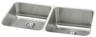 Elkay Gourmet Perfect Drain Collection Lustertone Collection ELUH311810LPD - Featured View