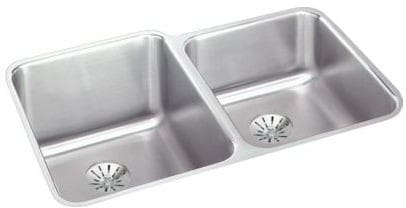 Elkay Gourmet Perfect Drain Collection Lustertone Collection ELUH3120RPD - Featured View