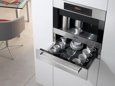 Miele Esw408214ss Functioning As A Plate And Cup Warmer Under Coffee System