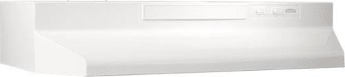 Broan F40000 Series F402411 - Monochromatic White